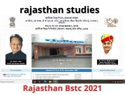 rajasthan bstc 2021
