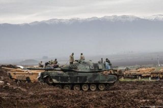 SDF: Warga AS, Inggris dan Jerman Bergabung Lawan Turki di Afrin