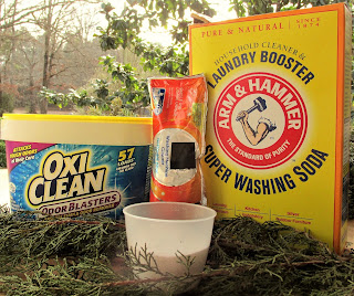 Make your own HE washing machine cleaner for less
