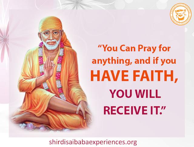 Sai Baba Please Help My Wife - Sai Devotee Aditya