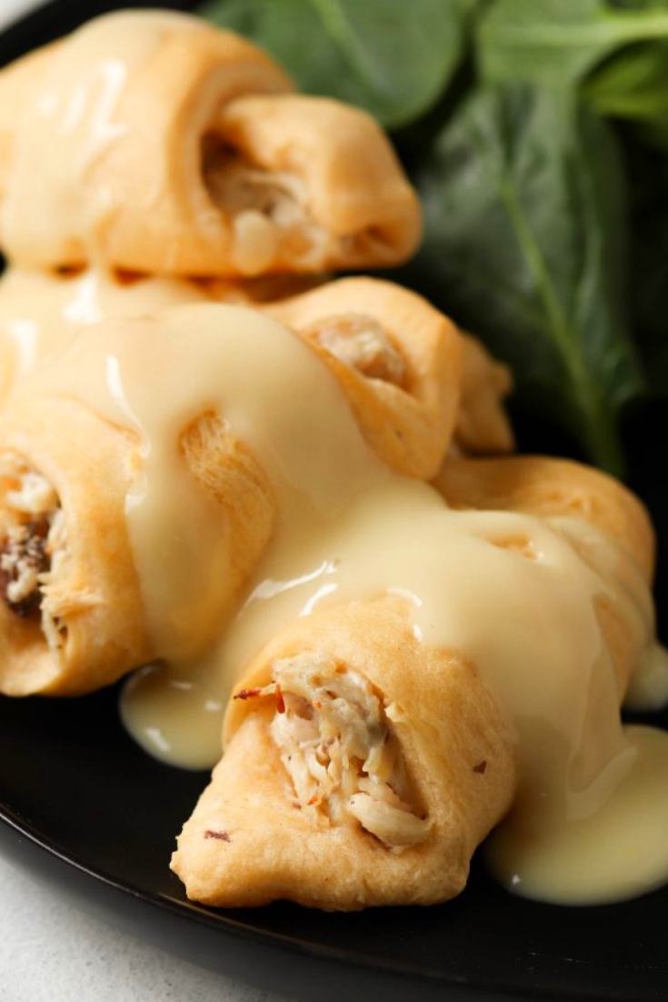 Cream Cheese Chicken Roll Ups
