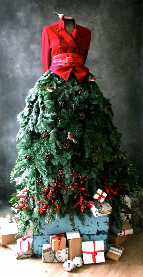 Sewmaker's Dummy Into a Christmas Tree