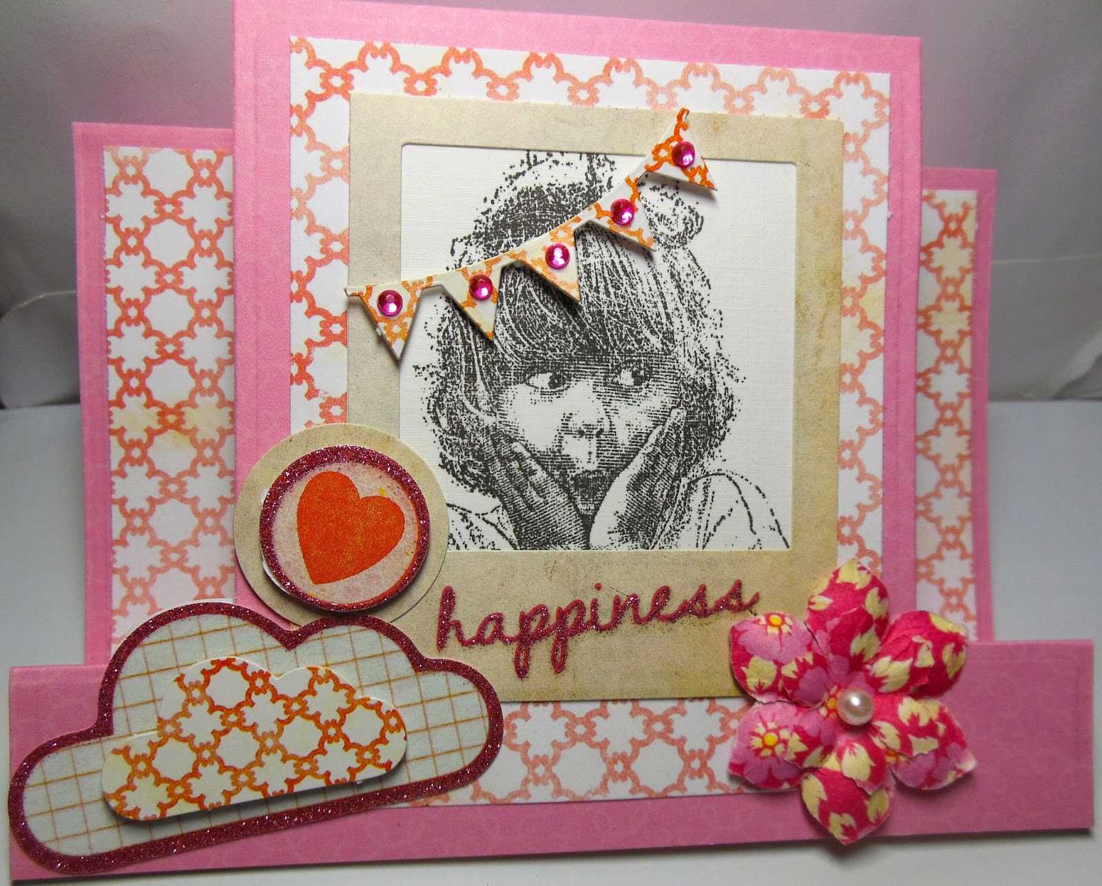 Paulette S A Paper Artzy Tickled Pink