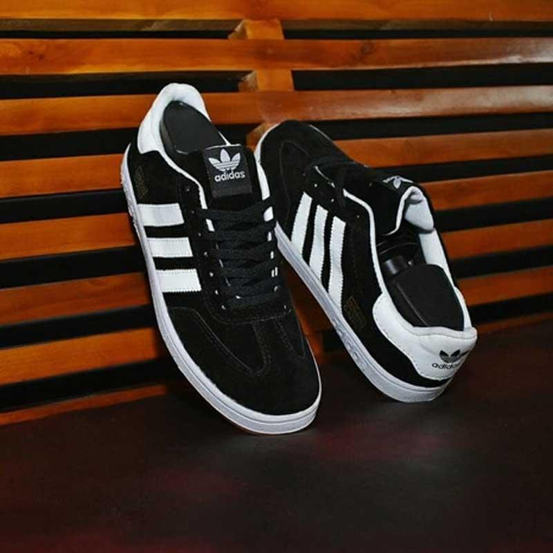 Sepatu adidas Neo Hitam Putih c9ba1a21ae