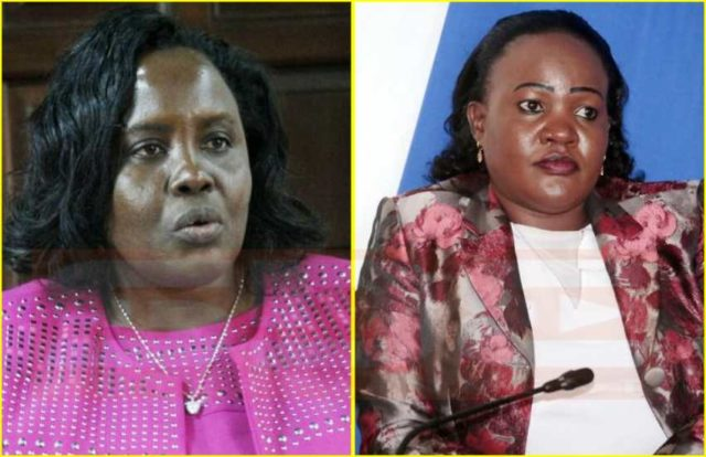 Two female Senators in Kenya exchange blows in fight over committee post