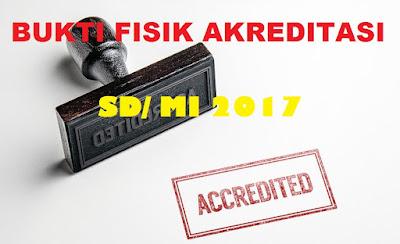 Bukti Fisik Akreditasi SD 2017 Standar Sarana dan Prasarana