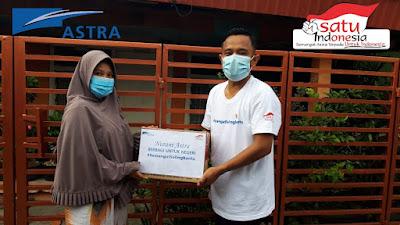 PT. Astra Internasional Tbk, Bagi-bagi Sembako untuk Masyarakat Terdampak Covid