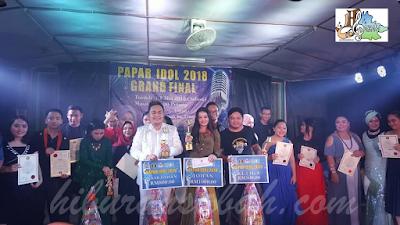Peserta akhir Papar Idol 2018