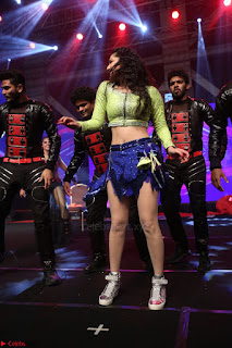 Sunny Leone Dancing on stage At Rogue Movie Audio Music Launch ~  142.JPG