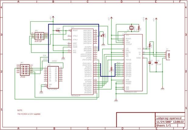 USBprog - An open source all purpose tool (AVR ISP, ARM7
