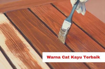 Warna Cat Kayu