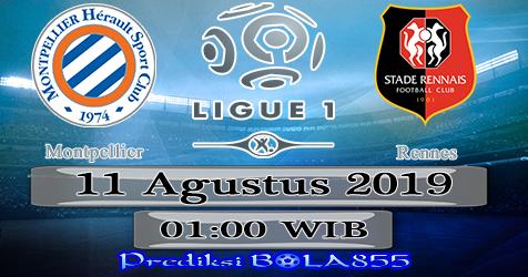 Prediksi Bola855 Montpellier vs Rennes 11 Agustus 2019