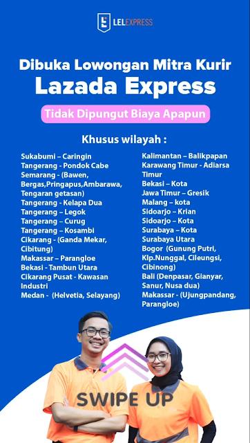 Lowongan Kerja SMA Lazada eLogistics Indonesia Medan Juni 2021