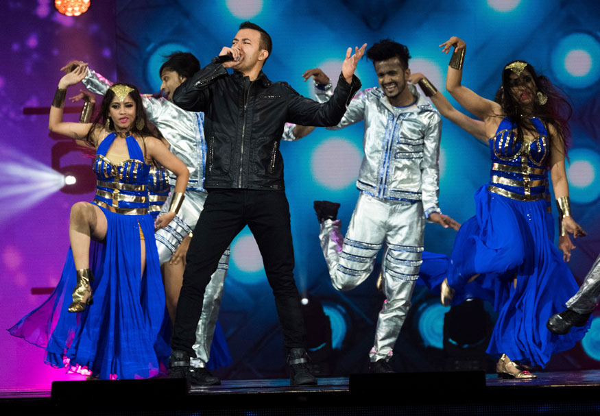 Bollywood Singers at International Indian Film Academy Festival's IIFA Rocks at MetLife Stadium