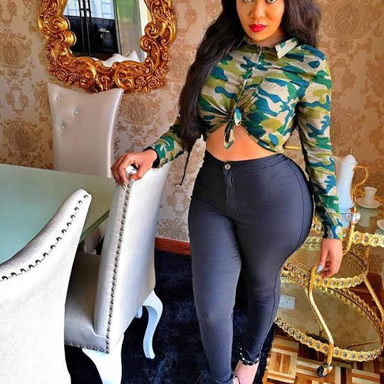 Just Recently Notorious Kenyan Groupie Vera Sidika Was Driving Nigerian Actor Mike Ezuruonye Crazy With Her Big Behind Today She Sure Did Drive The