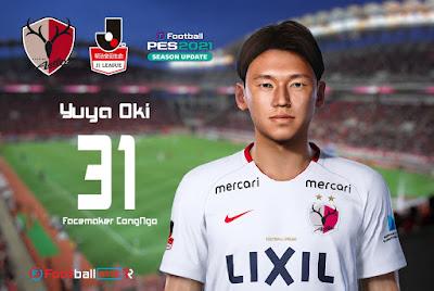 PES 2021 Faces Yuya Oki by CongNgo