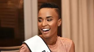 It's A Merc: Miss SA's New Ride
