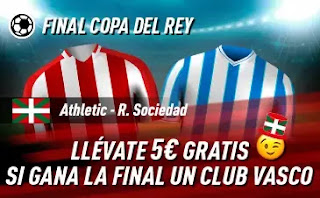 sportium promo Copa Athletic vs Real Sociedad 3-4-2021