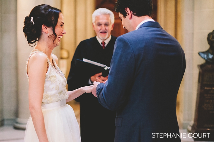san francisco city hall elopement photography