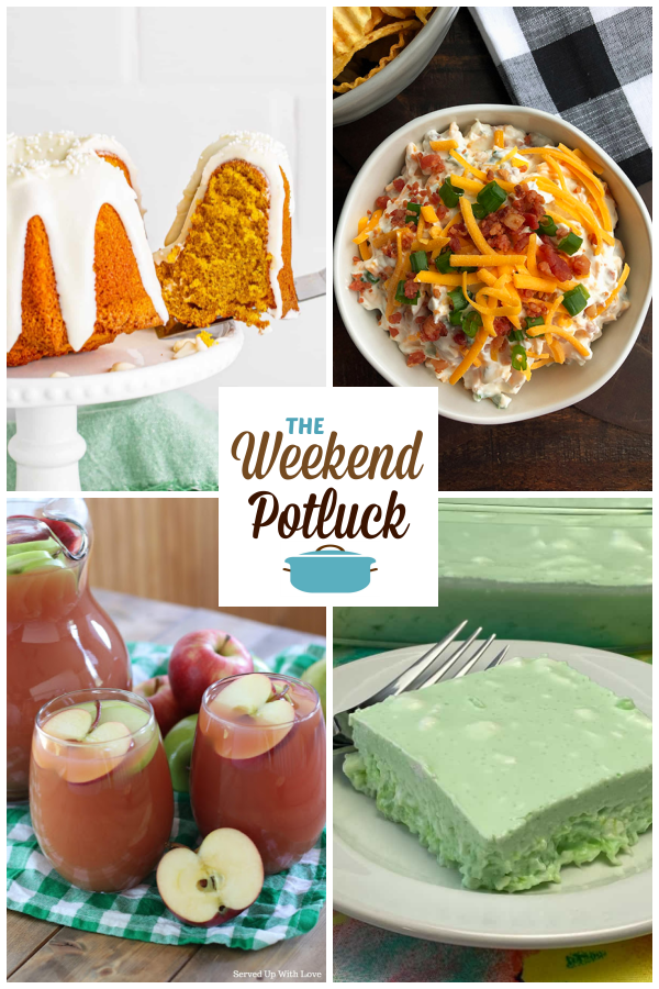 A virtual recipe swap with Pumpkin Air Fryer Cake, Loaded Baked Potato Dip, Autumn Harvest Punch, Lime Jello Salad and dozens more!