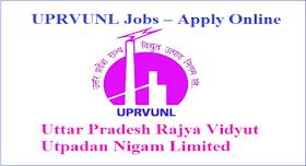 Uttar Pradesh Rajya Vidyut Utpadan Nigam Limited Jobs 2021