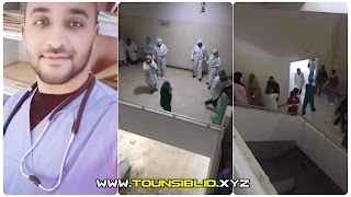 (بالفيديو و الصور) عاجل: وفاة طبيب شاب مقيم بالمستشفى الجهوي بجندوبة، بعد سقوطه من الطابق الخامس!