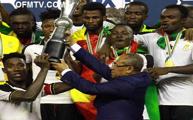 WAFU 2017: Black Stars B get $100,000 for winning tournament [Video]