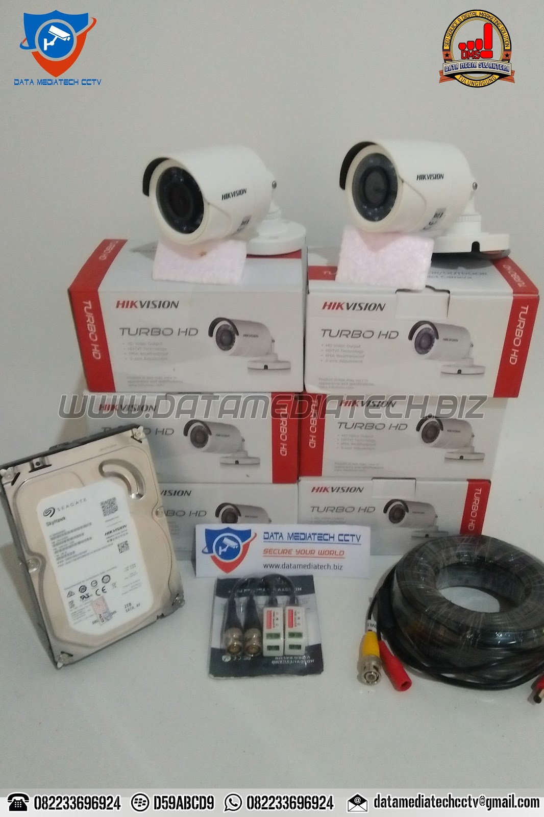 Jasa Pasang Kamera CCTV Terpercaya Trenggalek Kota