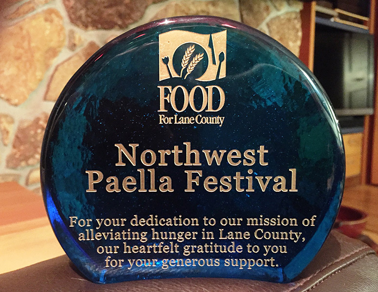 As You All Know Paella Fest Is A Benefit For Food Lane County Last Year Raised The Amazing Amount Of 17000 Through Donations At Gate