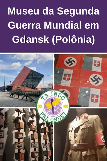 Museu da Segunda Guerra Mundial em Gdansk (Polônia) - onde o conflito começou!
