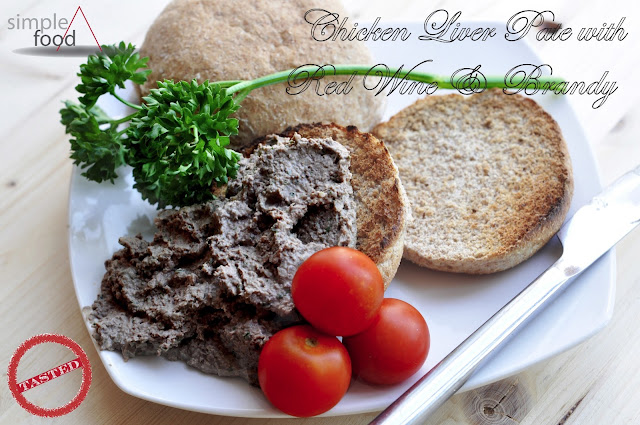 Chicken Liver Pate ~ Simple Food