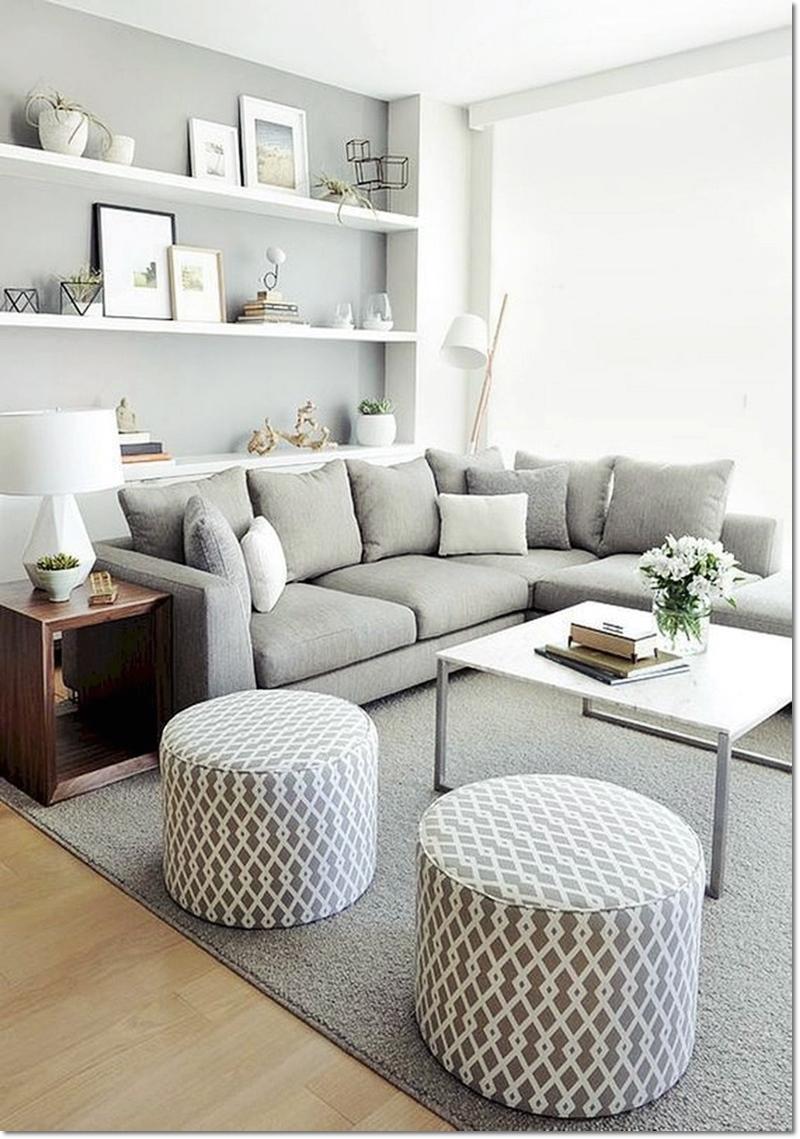 Minimalist Living Room Interior Design For Small Spaces