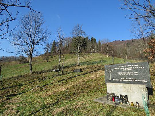 Cmentarz w Dołżycy.
