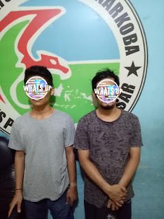 2 Pelaku Narkoba diciduk Polres Pelabuhan Makassar di Abdesir