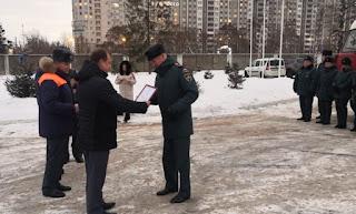 Награждение пожарных | Депутат Сергей Вострецов