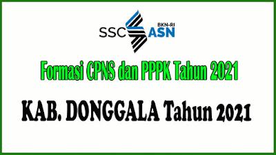 Alokasi Formasi CPNS dan PPPK KAB. DONGGALA Tahun 2021