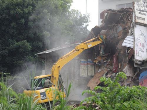 Kerusuhan rumah deret Tamansari Bandung