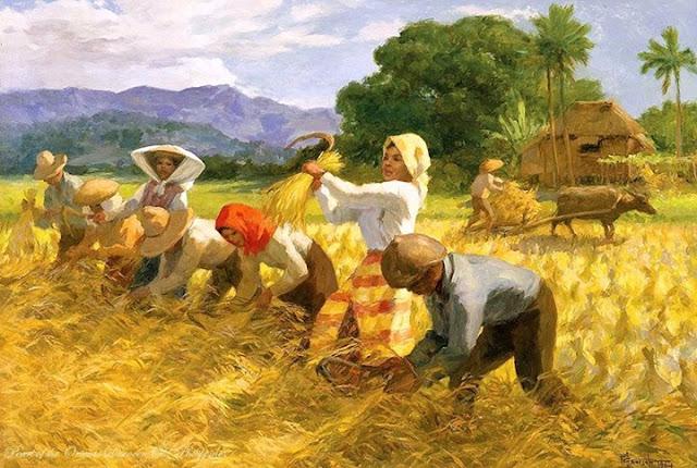 Fernando Amorsolo, The Harvesters