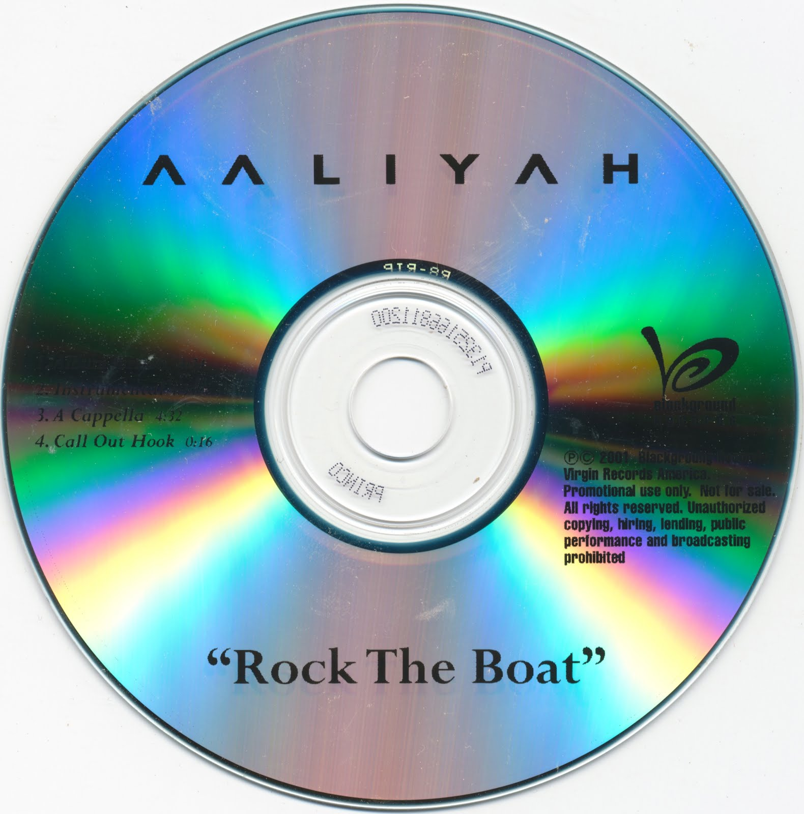 The LB Collection: Aaliyah - Rock The Boat [CDS] 2001
