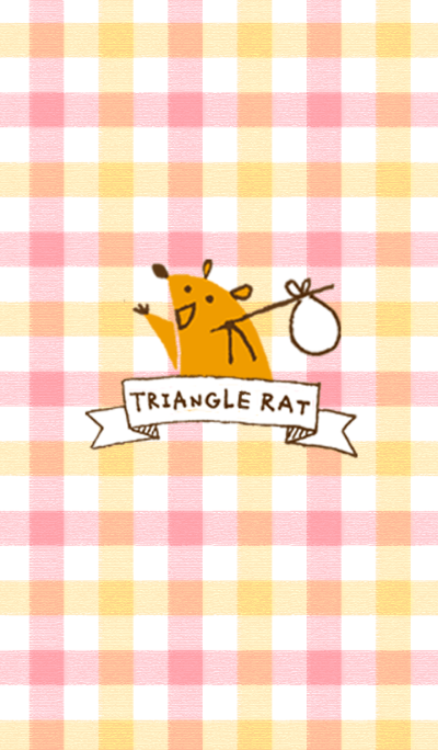 Triangle mouse decoration