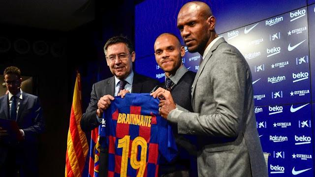 Barcelona complete emergency Braithwaite deal