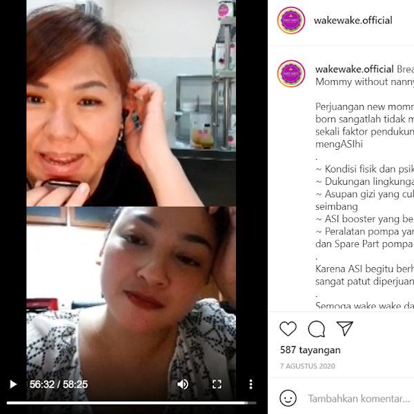 Live Instagram : Breastfeeding Mommy without nanny, why not?