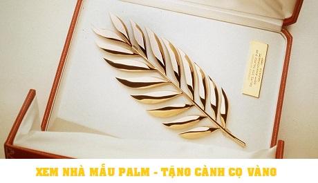 Cành cọ vàng tượng trưng cho sự may mắn dành tặng khách hàng