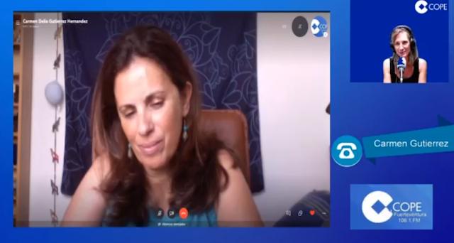 """Fuerteventura.- Carmen Delia Gutiérrez (Facilitadora): """"Los círculos de mujeres surgen de la necesidad de sacar a la luz la energía femenina"""""""
