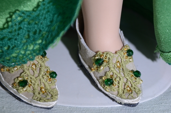 New doll's shoes.