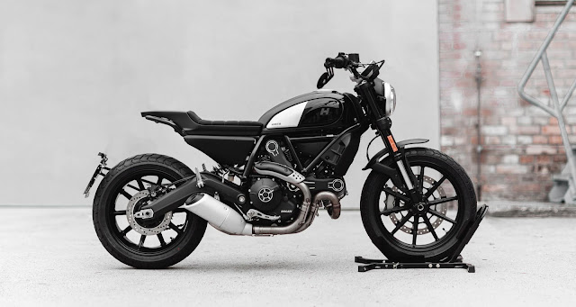 Ducati Scrambler Icon800 By Hookie Co. Hell Kustom