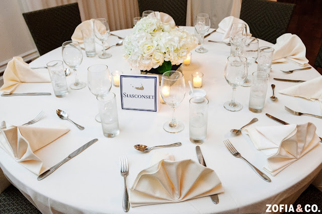 Nantucket Hotel Wedding Reception