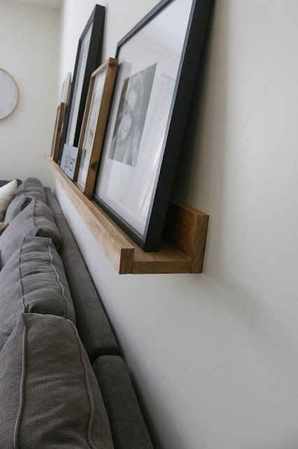 DIY Ledge Shelf