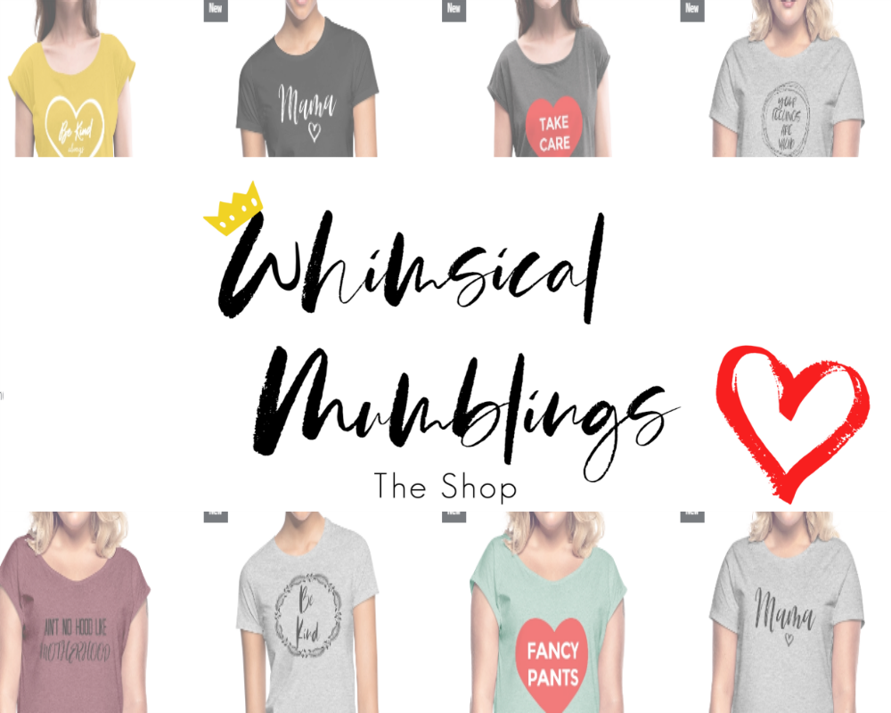 Whimsical Mumblings - The Shop