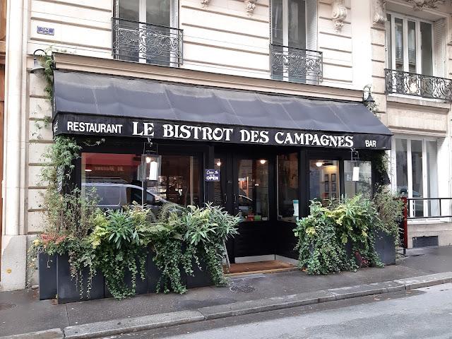 Le Bistrot des Campagnes restaurant Paris Montparnasse bonne adresse food